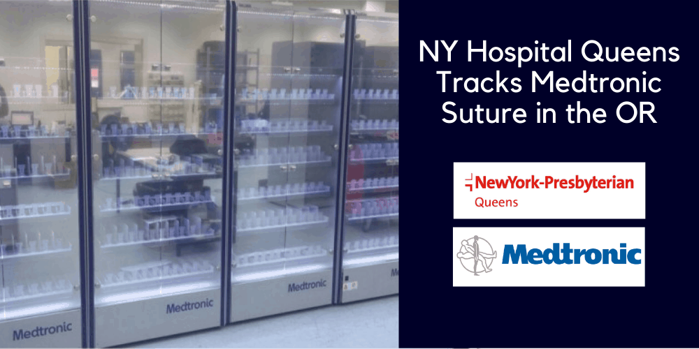 NY Hospital Queens Tracks Medtronic Suture in the OR