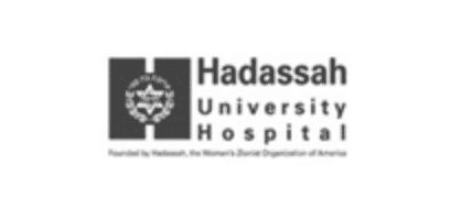 Hadassah Logo BW@2x