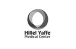 Hilel Yaffe Logo BW@2x